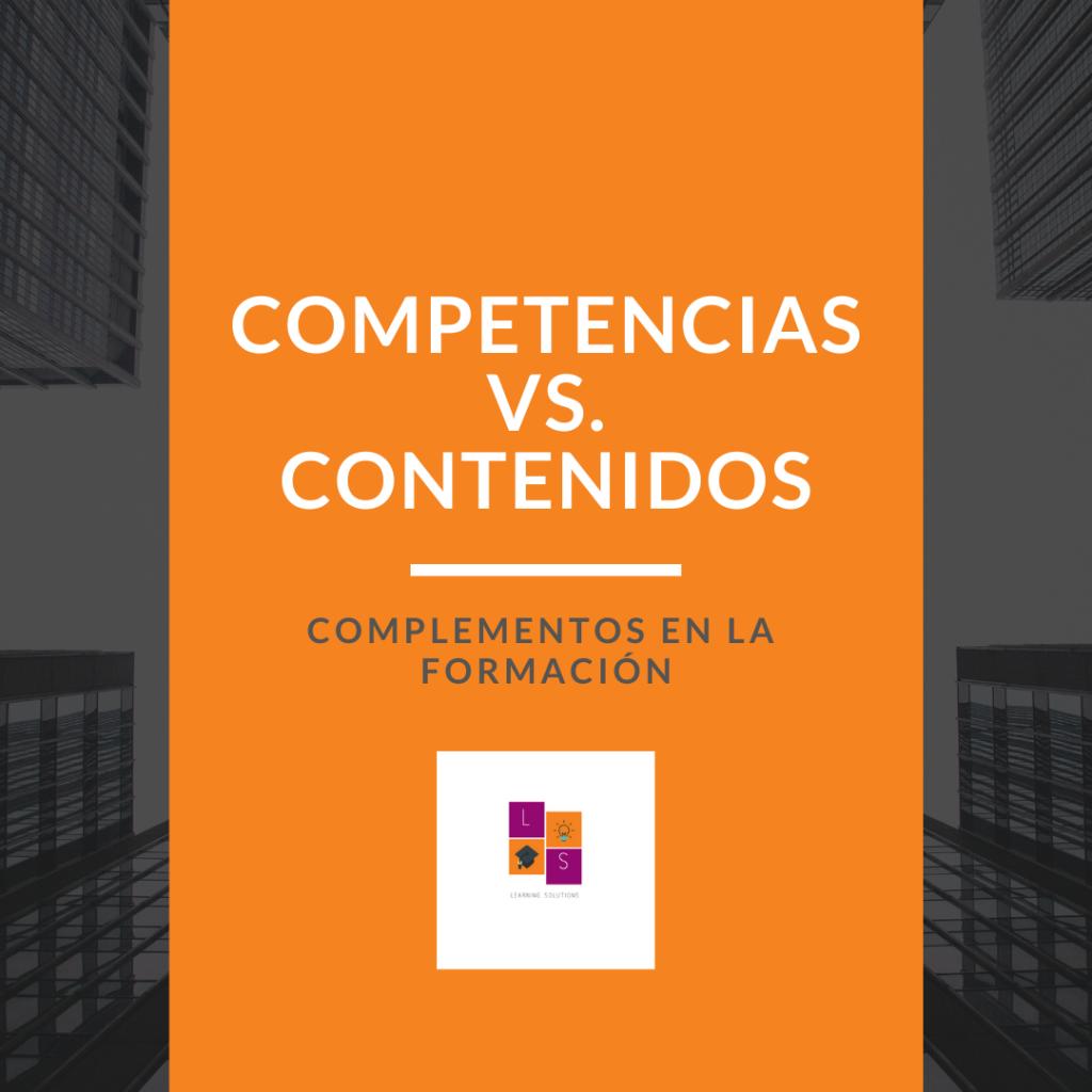 Competencias vs. contenidos